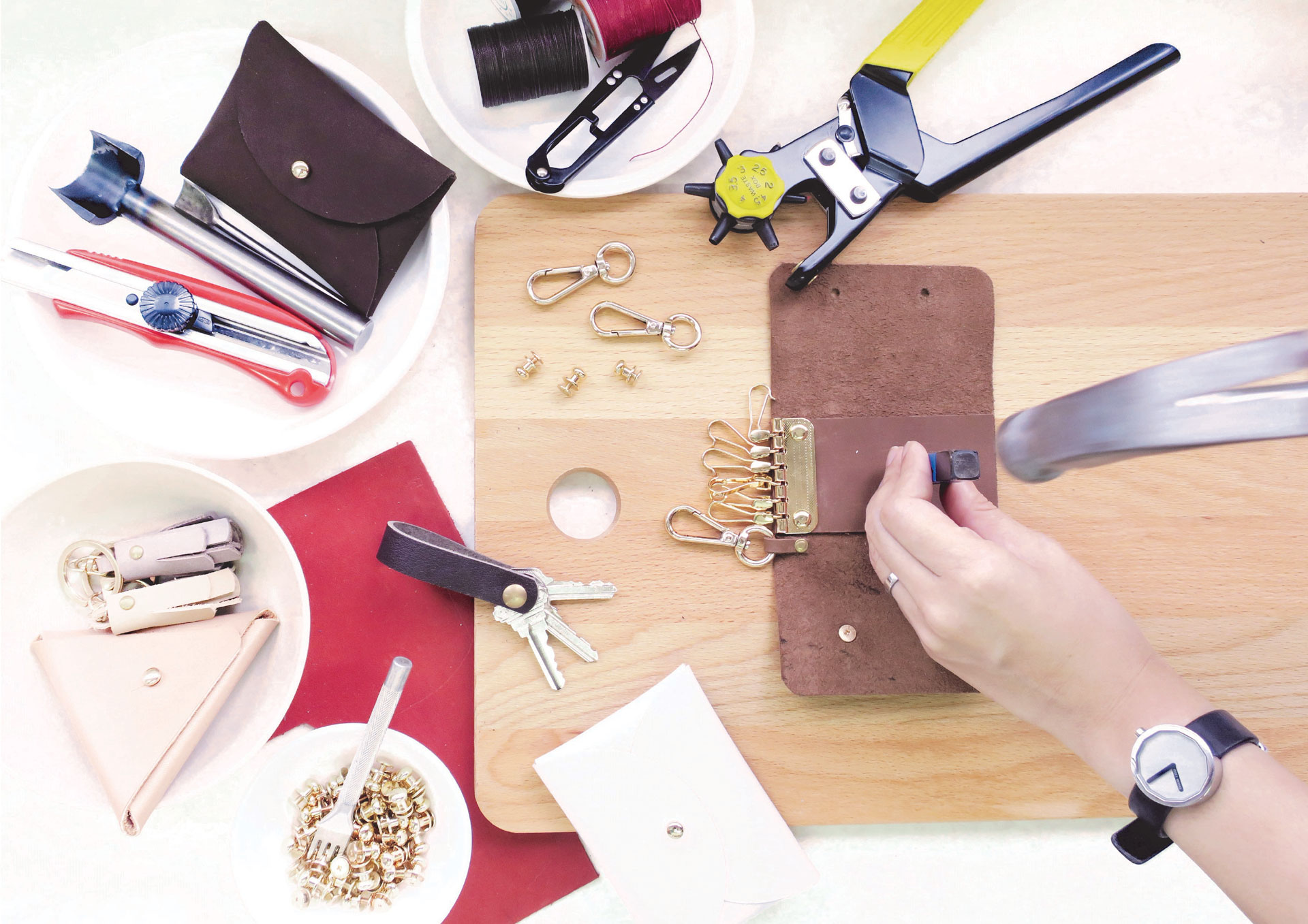 Leather Making Workshop | Epic Workshops Singapore