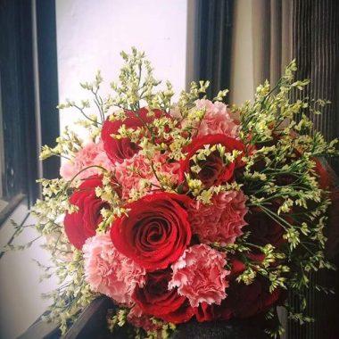 Guns & Roses Flower Bouquet | Epic Workshops Singapore