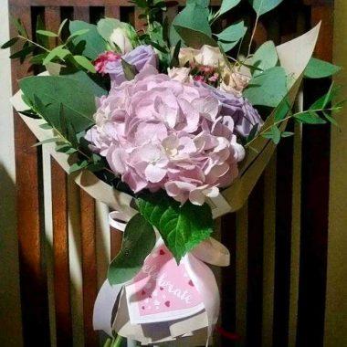 Lavendar Ice Cream Flower Bouquet | Epic Workshops Singapore