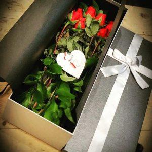 The Box Flower Bouquet | Epic Workshops Singapore