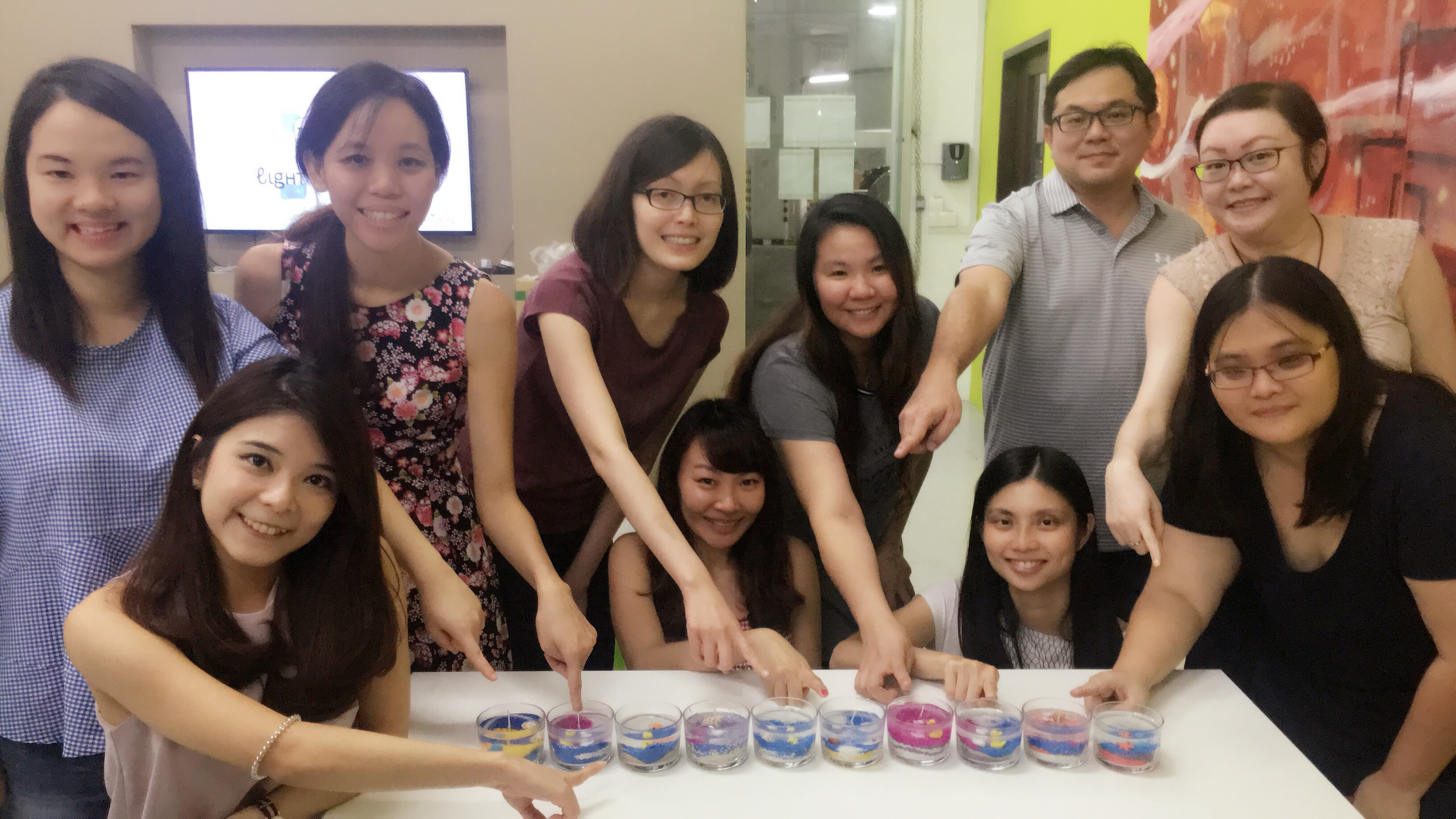 Gel Candle Workshop Singapore