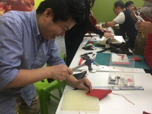 leather crafting workshop Photo Essay: Leather Workshops at EPIC April 2021