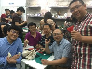 leather crafting workshop Photo Essay: Leather Workshops at EPIC August 2021