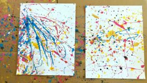 Splatter Painting Art Jamming Singapore