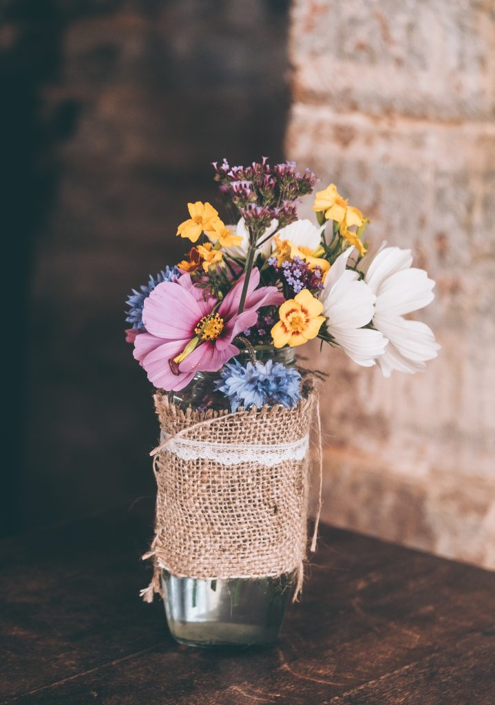 mason jar bouquet workshop