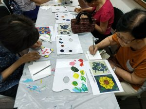 workshop for seniors Workshop for Seniors - Tiles Painting April 2021