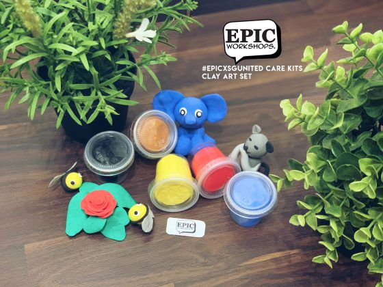 Stay Home Experience Kits - Clay Art