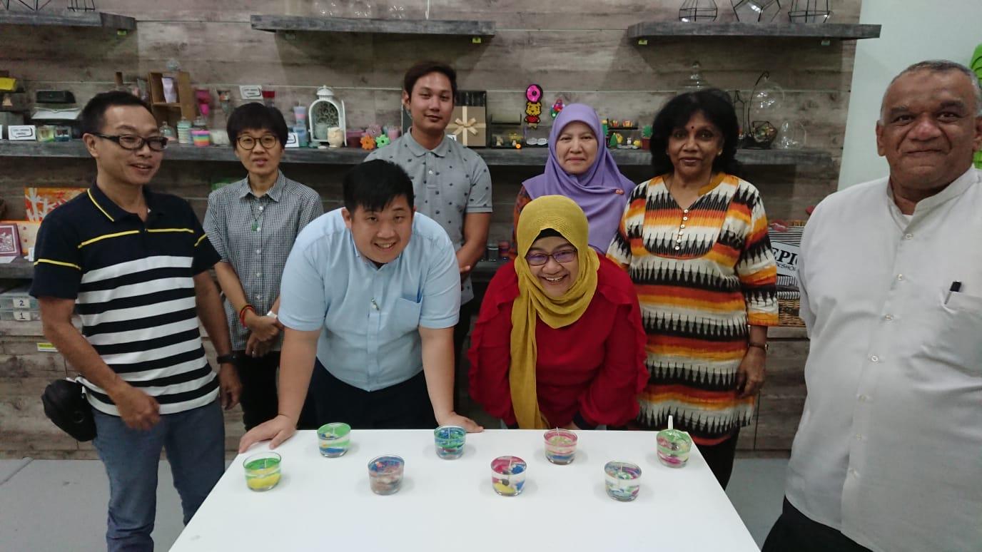 gel candle making workshop