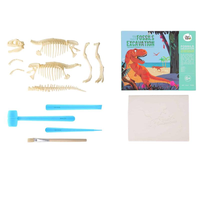 Art Experience Kit: Fossils Excavation - T-Rex September 2021