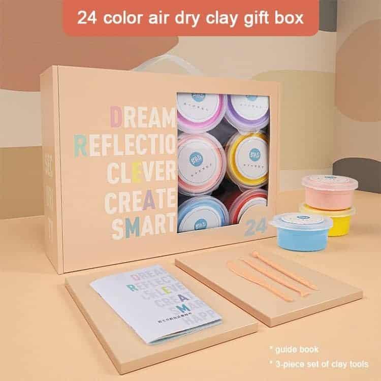 Art Experience Kit: Clay Figurine Making (24pcs) April 2021