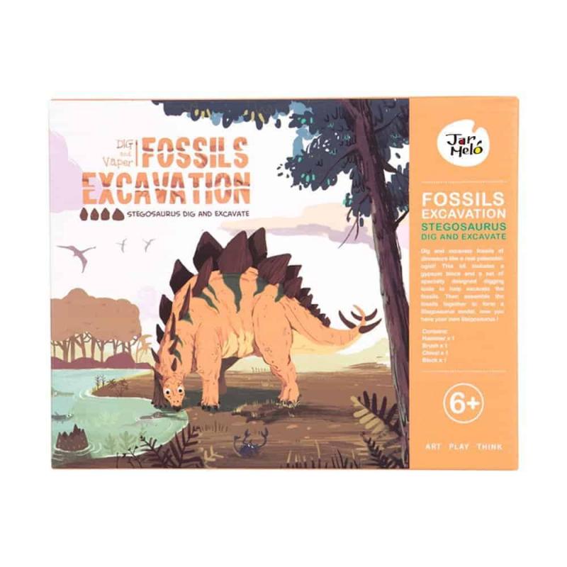 Art Experience Kit: Fossils Excavation - Stegosaurus August 2021