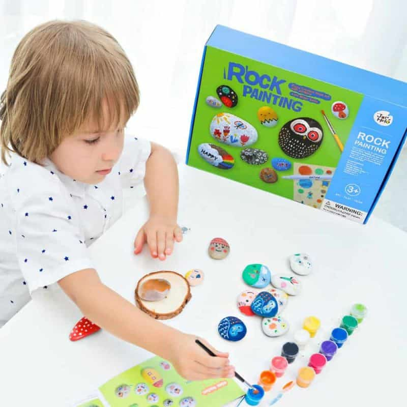 Art Experience Kit: Rock Painting August 2021