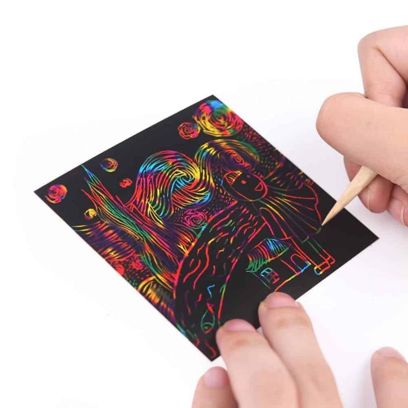 Art Experience Kit: Magic Scratch Art (130pcs) August 2021