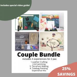 Couple Bundle : Stay Home Experience Kits (IMDA) September 2021