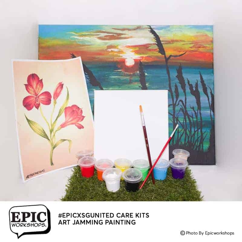 Stay Home Experience Kits - Art Jamming Stay Home Experience Kits - Art Jamming September 2021
