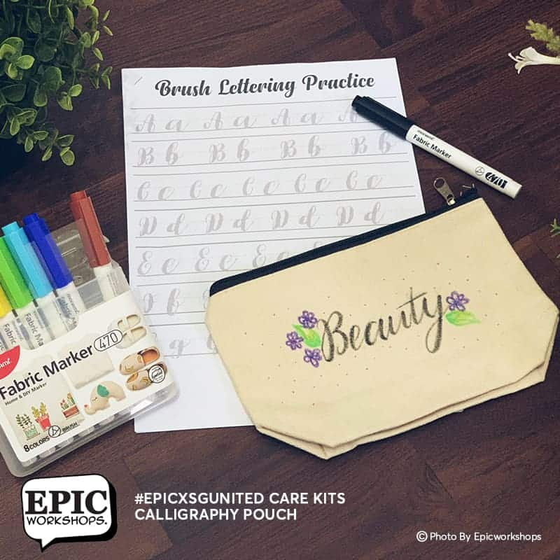 Calligraphy Pouch Experience Kits