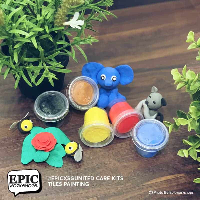 Stay Home Experience Kits - Clay Art August 2021