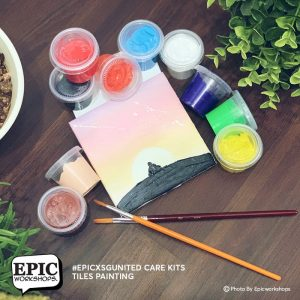 Tiles Painting Experience Kits