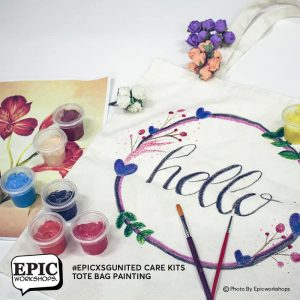 Tote Bag Painting Experience Kits